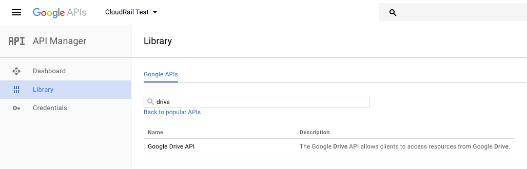 Authenticating with Google Drive - CloudRail